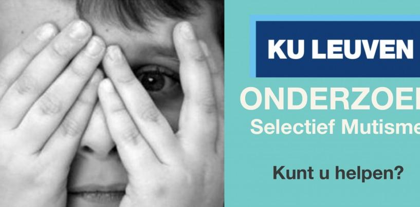 Oproep ouders deelname onderzoek KU Leuven