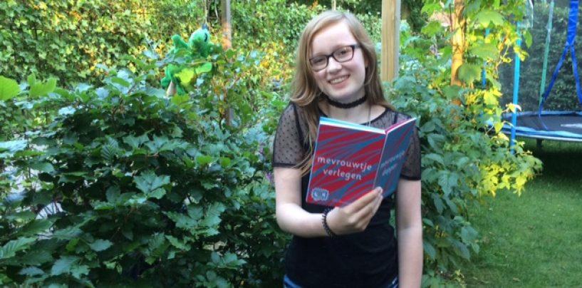 Een prachtig boek van een hele jonge auteur!